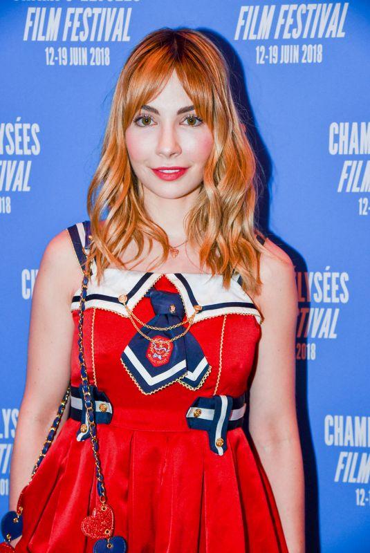 ALIX BENEZECH at 7th Champs Elysees Film Festival in Paris 06/18/2018