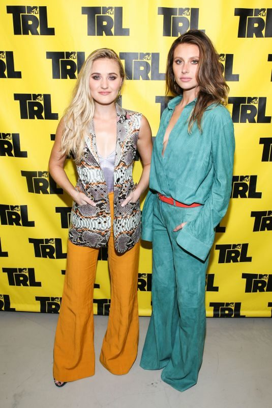 ALY and AJ MICHALKA at TRL in New York 06/02/2018