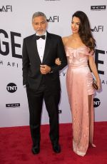 AMAL and George CLOONEY at American Film Institute's 46th Life Achievement Award Gala Tribute to George Clooney in Hollywood 06/07/2018