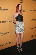 AMANDA FIELDS at Yellowstone Show Premiere in Los Angeles 06/11/2018