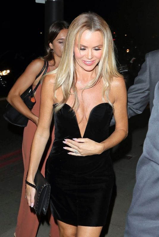 AMANDA HOLDEN at Britain's Got Talent Party in London 06/03/2018