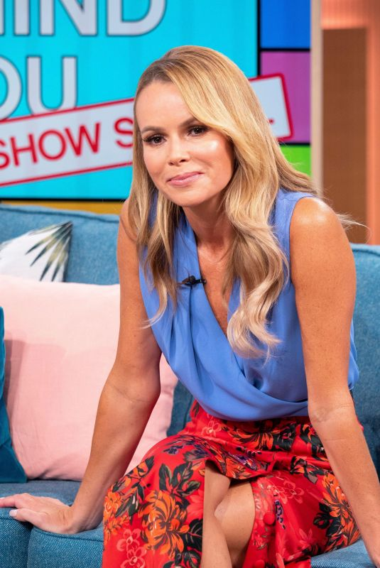 AMANDA HOLDEN at This Morning Show in London 06/01/2018