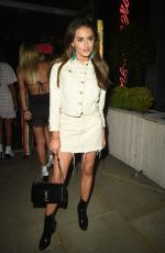 AMBER DAVIES Night Out in Manchester 06/09/2018