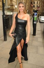 AMBER DOWDING, CHLOE SIMS, SHELBY TRIBBLE and GEORGIA KOUSOULOU at Rosso Restaurant in Manchester 06/13/2018