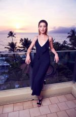 AMBER HEARD at Maui Film Festival 2018