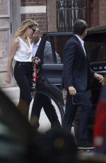 AMBER HEARD Out in New York 06/07/2018