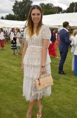 AMBER LE BON at Cartier Queens Cup Polo in Windsor 06/17/2018