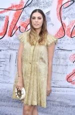 AMBER LE BON at Serpentine Gallery Summer Party in London 06/19/2018