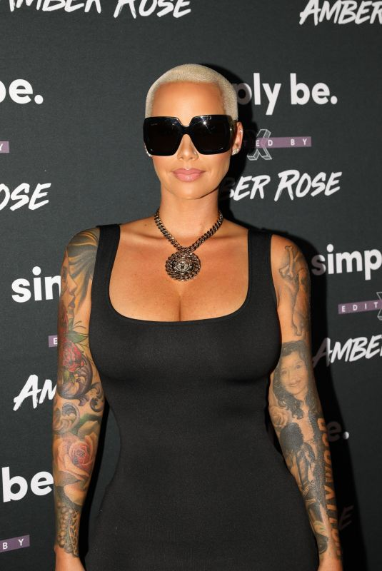 AMBER ROSE at Amber Rose x Simply Be Launch Party in Los Angeles 06/20/2018