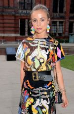 AMELIA WINDSOR at Victoria and Albert Museum Summer Party in London 06/13/2018