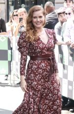 AMY ADAMS Arrives at Build Series in New York 06/28/2018