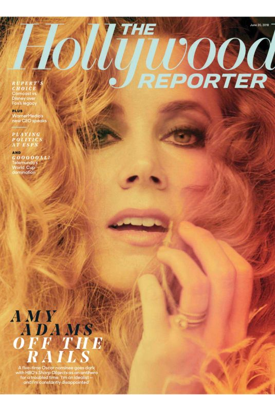 AMY ADAMS in The Hollywood Reporter, June 2018