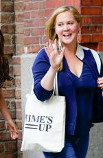 AMY SCHUMER Out and About in New York 06/11/2018