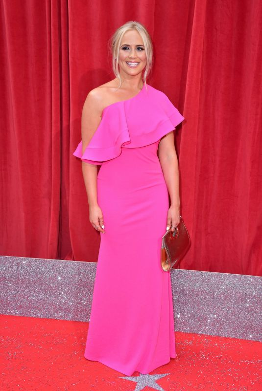 AMY WALSH at British Soap Awards 2018 in London 06/02/2018