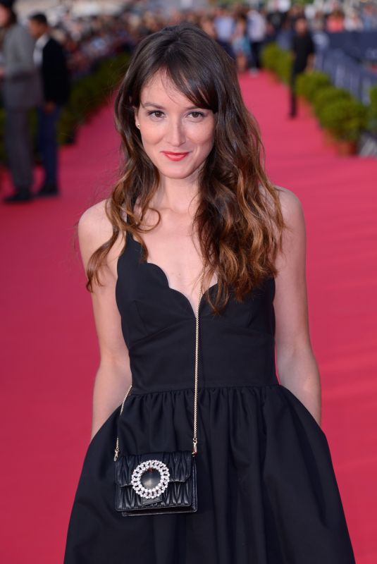 ANAIS DEMOUSTIER at 32nd Cabourg Film Festival 06/15/2018