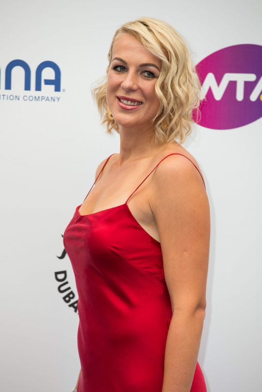 ANASTASIA PAVLYUCHENKOVA at WTA Tennis on the Thames Evening Reception in London 06/28/2018