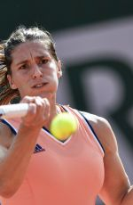 ANDREA PETKOVIC at 2018 French Open Tennis Tournament in Paris 06/02/2018