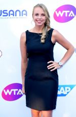 ANETT KONTAVEIT at WTA Tennis on the Thames Evening Reception in London 06/28/2018