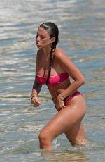 ANGELA NASTI in Bikini on the Beach in Mykonos 06/14/2018