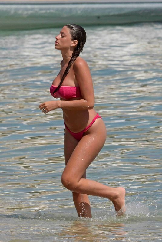ANGELA NASTI in Bikini on the Beach in Mykonos 06/14/2018