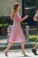 ANGELA SARAFYAN Out for Lunch in New York 06/07/2018