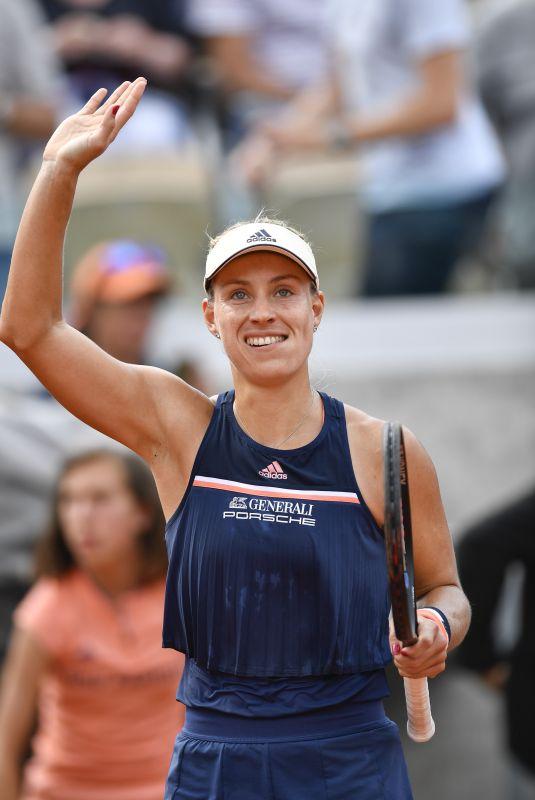 ANGELIQUE KERBER at 2018 French Open Tennis Tournament in Paris 06/04/2018