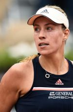 ANGELIQUE KERBER at 2018 French Open Tennis Tournament in Paris 06/06/2018