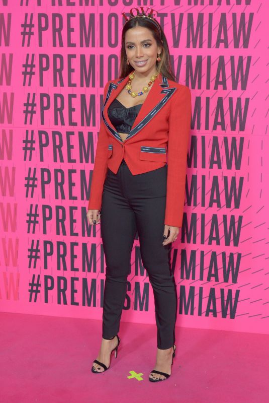 ANITTA at MTV Millenial Awards 2018 in Mexico City 06/02/2018