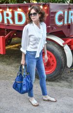 ANNA FRIEL at Giffords Circus Press Night in London 06/28/2018