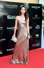 ANNA SAFRONCIK at Filming Italy Sardegna Festival Dinner in Cagliari 06/19/2018