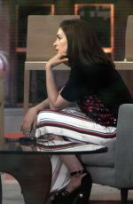 ANNE HATHAWAY at Today Show in New York 05/31/2018