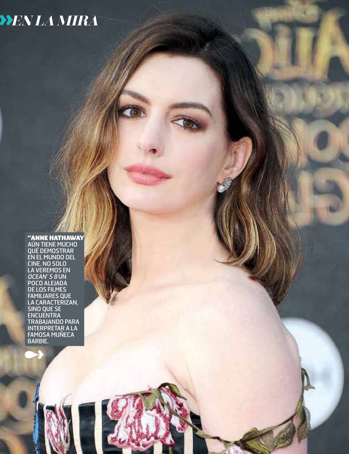 ANNE HATHAWAY at The Big Picture Presentation at Cinemacon