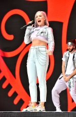 ANNE MARIE Performs at Capital Radio Summertime Ball 2018 in London 06/09/2018