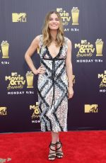 ANNIE MURPHY at 2018 MTV Movie and TV Awards in Santa Monica 06/16/2018
