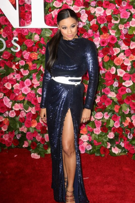ARIANA DEBOSE at 2018 Tony Awards in New York 06/10/2018
