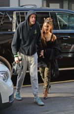 ARIANA GRANDE and Pete Davidson Arrives at Their Apartment in New York 06/252/2018