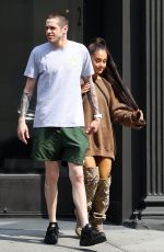 ARIANA GRANDE and Pete Davidson at Furniture Shopping in New York 06/18/2018