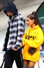 ARIANA GRANDE and Pete Davidson Leaves Their Home in New York 06/20/2018