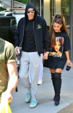 ARIANA GRANDE and Pete Davidson Out and About in New York 06/25/2018