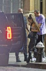 ARIANA GRANDE and Pete Davidson Out in New York 06/19/2018