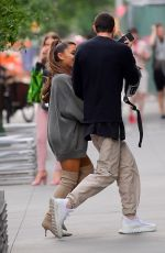 ARIANA GRANDE and Pete Davidson Out in New York 06/24/2018