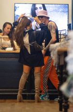ARIANA GRANDE and Pete Davidson Shopping at Sephora in New York 06/29/208