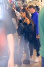 ARIANA GRANDE and Pete Davidson Shopping in New York 06/28/2018