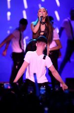 ARIANA GRANDE at KiisFM Wango Tango Village in Los Angeles 06/02/2018