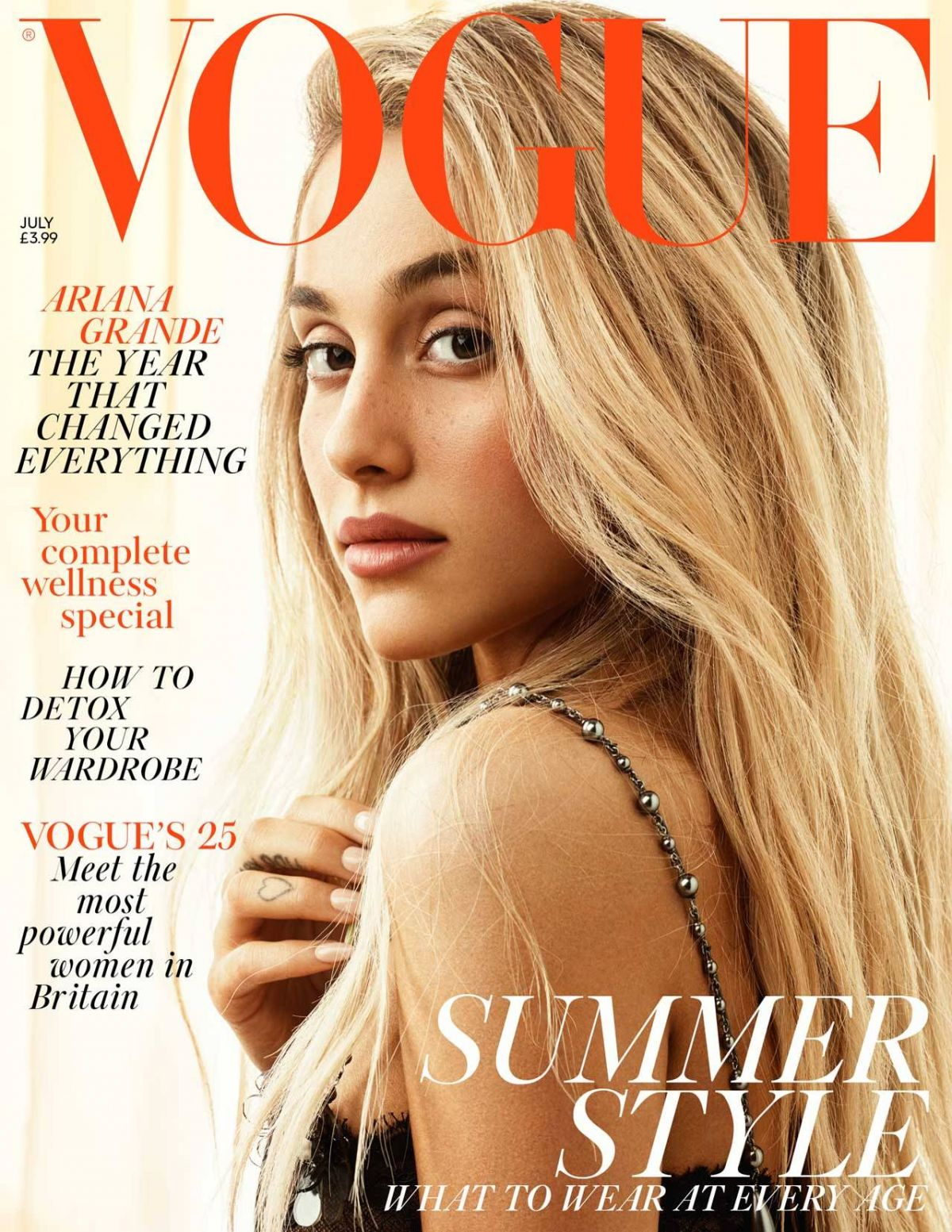 ARIANA GRANDE for Vogue Magazine, UK July 2018 - HawtCelebs - photo#20
