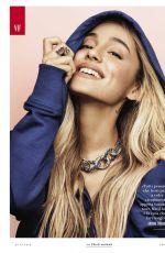 ARIANA GRANDE in Vanity Fair Magazine, Italy June 2018