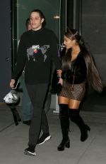 ARIANA GRANDE Leaves Her Apartment in New York 06/27/2081