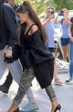 ARIANA GRANDE Out in New York 06/25/2018