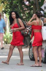 ARIANNY CELESTE and TANIA MARIA in Bikinis at a Beach in Tulum 06/20/2018