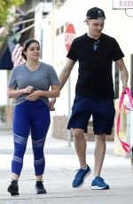 ARIEL WINTER and Levi Meaden Out with Their Dog in Los Angeles 06/26/2018
